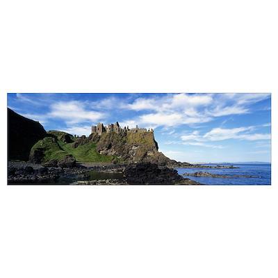 Dunluce Castle Antrim Ireland Poster