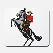 Canadian Police Mountie Mousepad