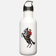 Canadian Police Mountie Sports Water Bottle