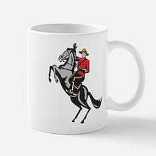 Canadian Police Mountie Mug