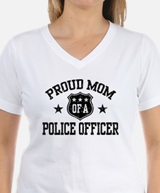 Proud Mom of a Police Officer Shirt