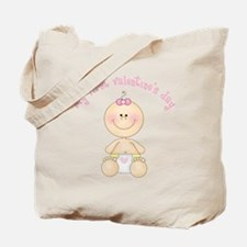 Baby 1st Valentine Tote Bag