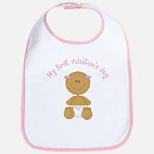 Ethnic Baby 1st Valentine Bib