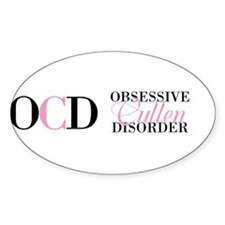 Obsessive Cullen Disorder Twillight Edward Decal