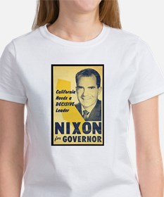NIXON FOR GOVERNOR Women's T-Shirt