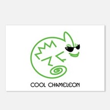 Cool Chameleon Postcards (Package of 8)