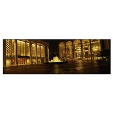 Lincoln Center New York NY Framed Print