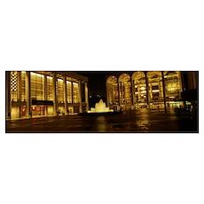 Lincoln Center New York NY Poster