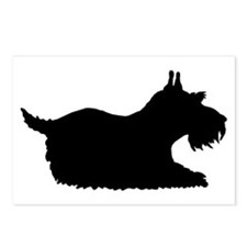 Schnauzer Silhouette Postcards (Package of 8)