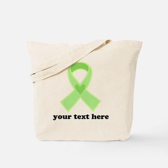 Personalized Celiac Disease Ribbon Tote Bag