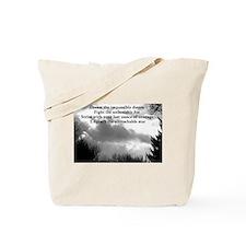 Dream the impossible dream Tote Bag