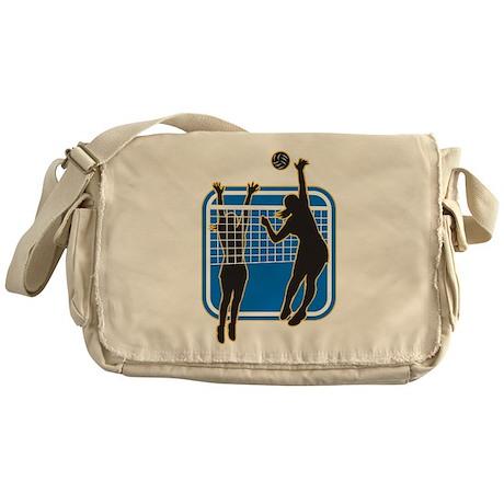Volleyball Indoor Woman Messenger Bag