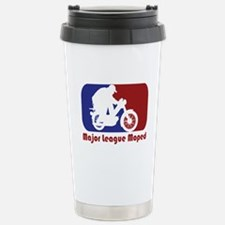 Moped Stainless Steel Travel Mug