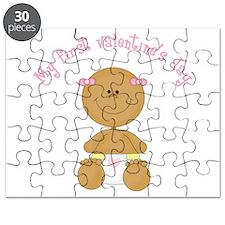 Ethnic Baby 1st Valentine Puzzle