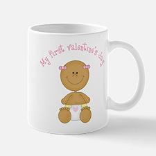 Ethnic Baby 1st Valentine Mug