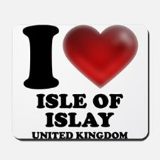 I Heart Isle of Islay Mousepad