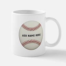 Baseball Name Customized Mug