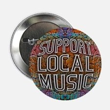 "Support Local Music 2.25"" Button (10 pack)"