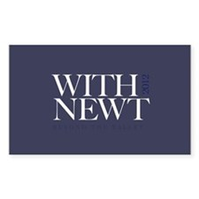 """""""With Newt"""" Decal"""