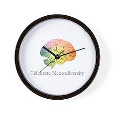 Celebrate Neurodiversity Wall Clock