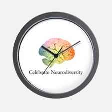 Celebrate Neurodiversity Wall Clock