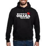 Somebody In Omaha Loves Me Hoodie (dark)