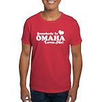 Somebody In Omaha Loves Me Dark T-Shirt