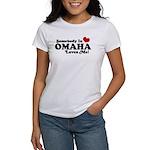 Somebody In Omaha Loves Me Women's T-Shirt