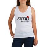 Somebody In Omaha Loves Me Women's Tank Top