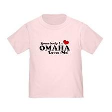 Somebody In Omaha Loves Me T