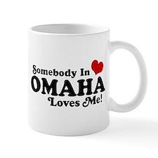 Somebody In Omaha Loves Me Mug