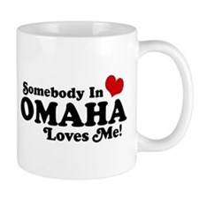 Somebody In Omaha Loves Me Mug
