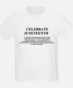 Juneteenth Kids T-Shirt