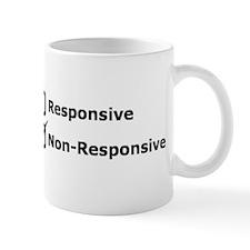 Non-Responsive T-Shirt Mugs