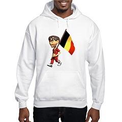 3D Belgium Hooded Sweatshirt