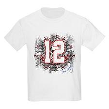 Tom Brady Grunge Skull T-Shirt