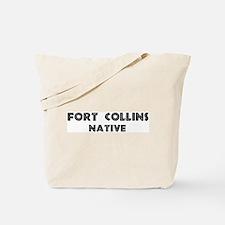 Fort Collins Native Tote Bag
