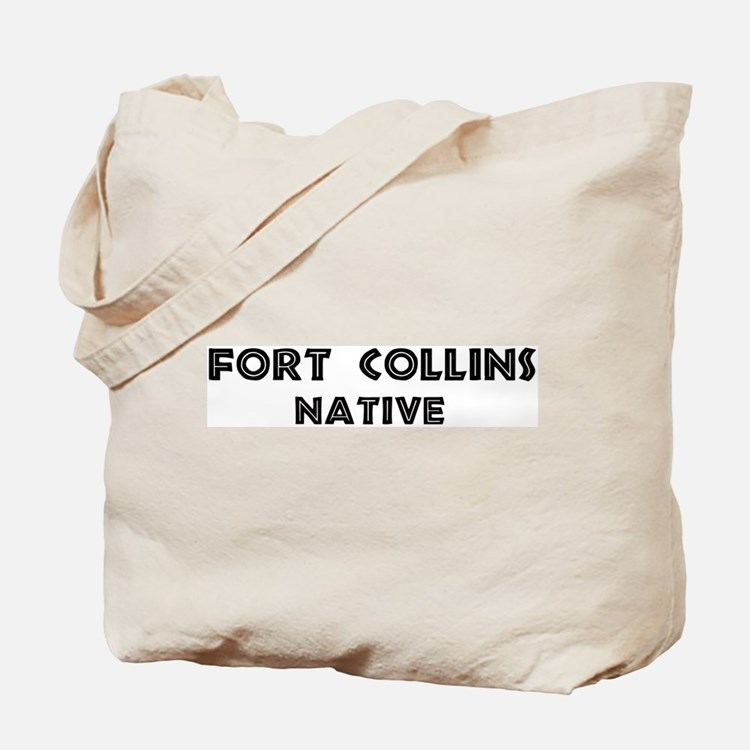 Fort Collins Native Tote Bag
