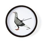 Flying Flight Teager Wall Clock