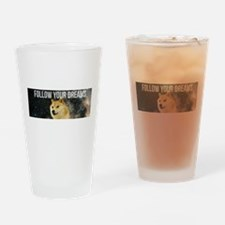 Funny Cal Drinking Glass