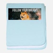 Cool Bitcoin baby blanket