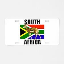 South Africa Springbok Aluminum License Plate