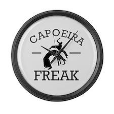 Capoeira Freak Large Wall Clock