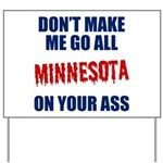 Minnesota Baseball Yard Sign