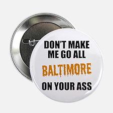 """Baltimore Baseball 2.25"""" Button"""