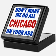 Chicago Baseball Keepsake Box