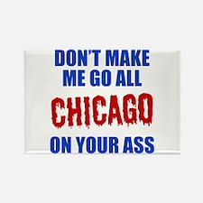 Chicago Baseball Rectangle Magnet