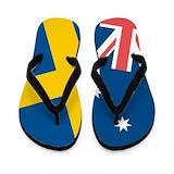 Australian flag flip flops Flip Flops