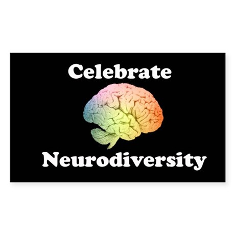 Celebrate Neurodiversity Bumper sticker