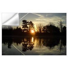 Mississippi River Mirror Wall Art Wall Decal